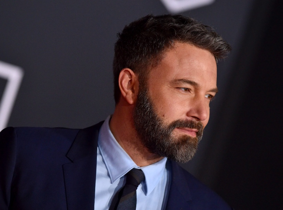Ben Affleck Balances Packages & Dunkin' Donuts Coffee While Struggling To Keep His Pants Up