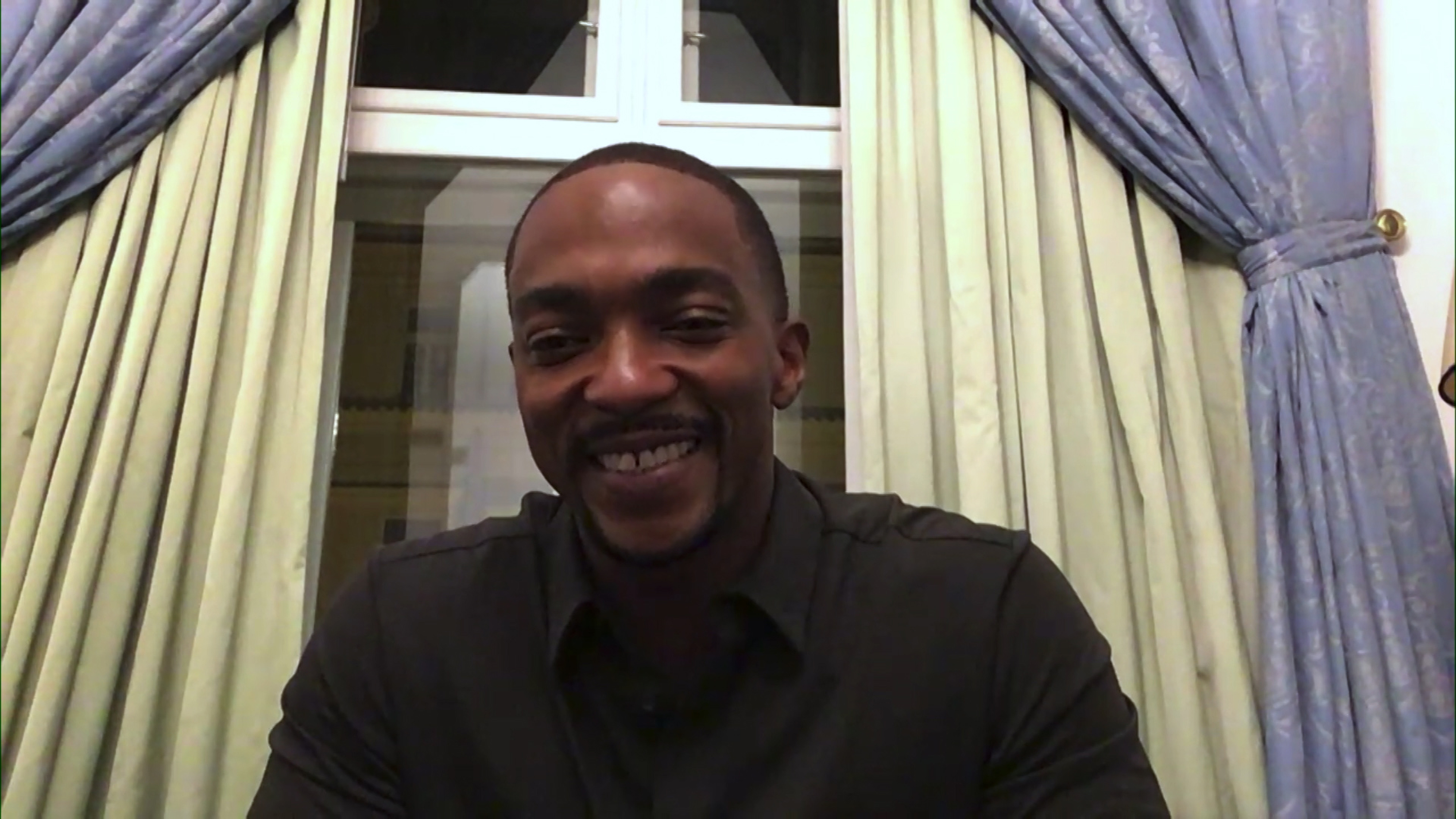Anthony Mackie Talks Being A 'Golden Girls' Fanboy And Meeting Betty White