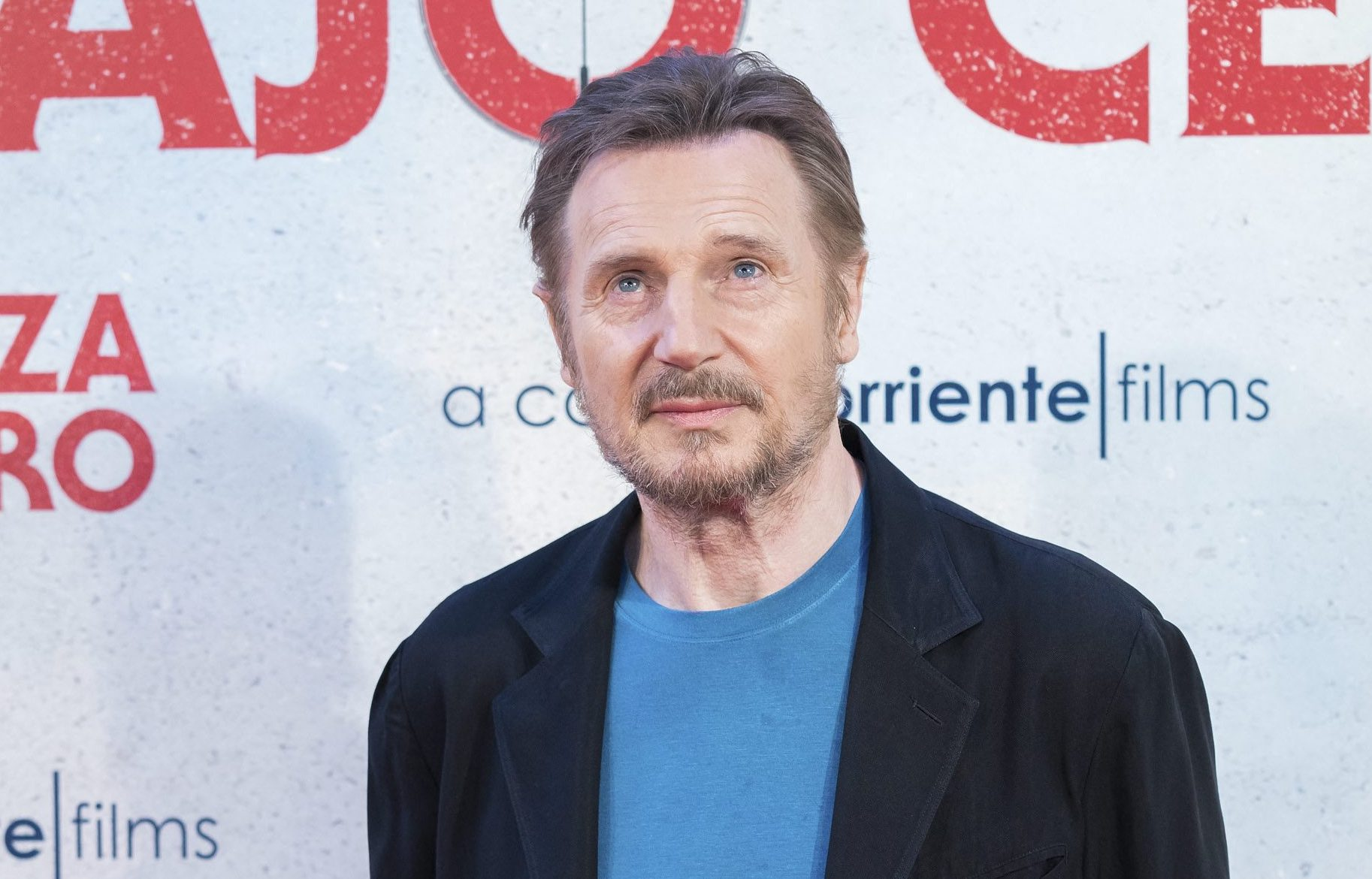 Liam Neeson Introduces New Movie In Person During NYC Theatrical Premiere Of 'The Marksman'