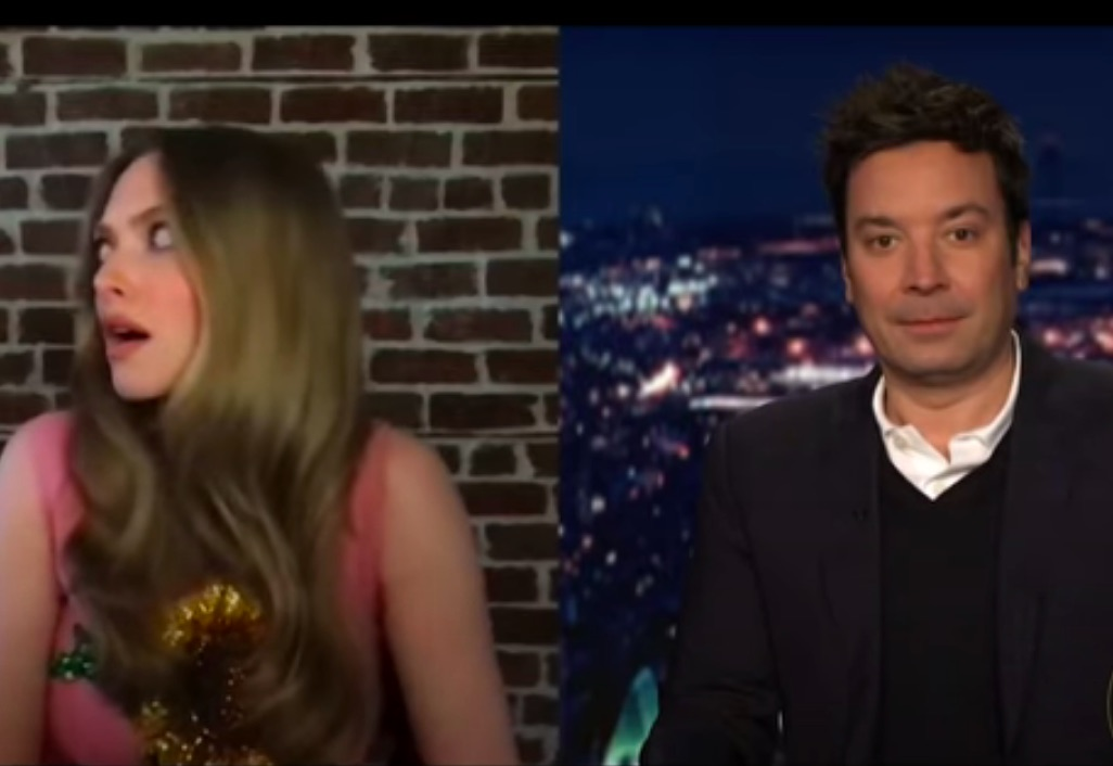 Amanda Seyfried's 'Tonight Show' Interview Hilariously Interrupted By A Knock On The Door