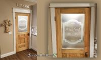 Wood Pantry Door with a Fresh New Look - Etched Glass ...
