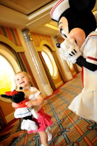 Toddler on the Disney Cruise Line