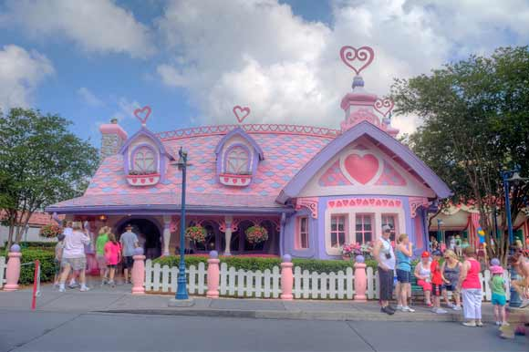 Minnie Mouse's House
