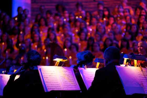Orchestra and Choir at Candlelight Processional 2011
