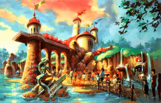Ariel's Adventure rendering