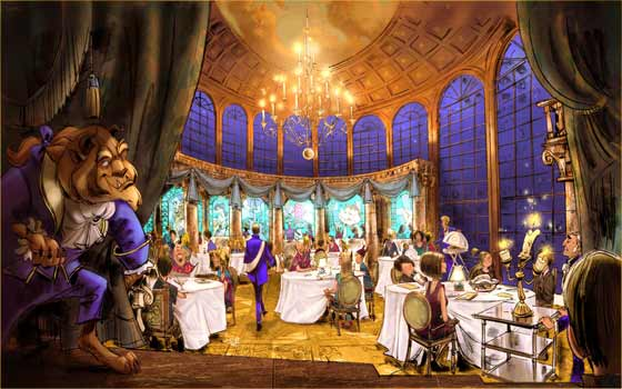Be Our Guest rendering