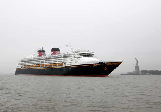 Disney Cruise Line Greets NYC with World's Largest Bumper Sticker
