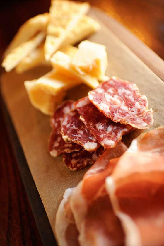 Meats and cheese platter, Tutto Gusto