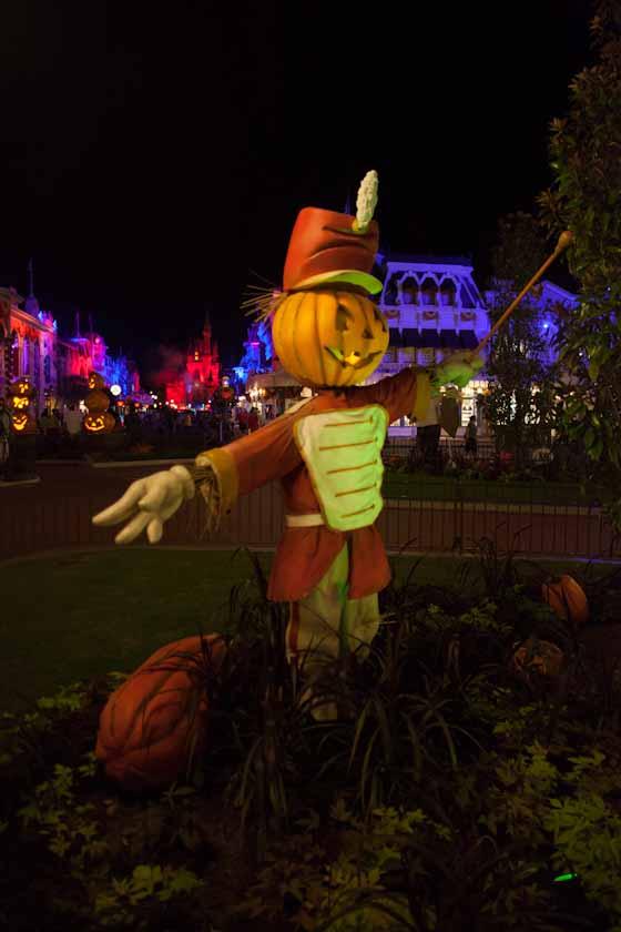 Pumpkin man on Main St. U.S.A.