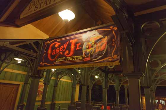 Casey Jr. Candy Station