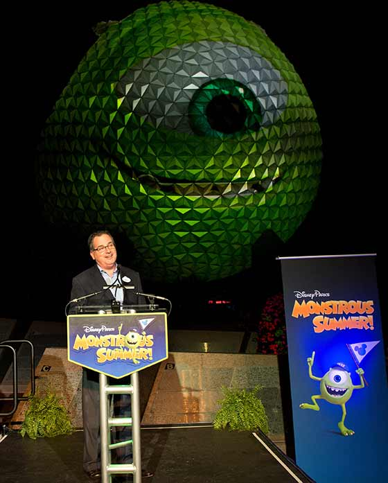 Spaceship Earth with Mike from Monsters University