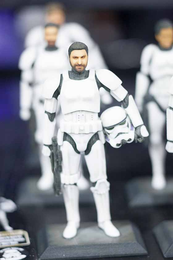 D-Tech Me Stormtrooper at Star Wars Weekends