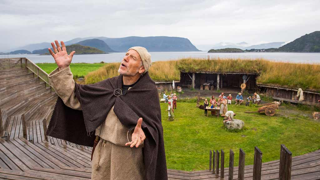 Viking village recreation