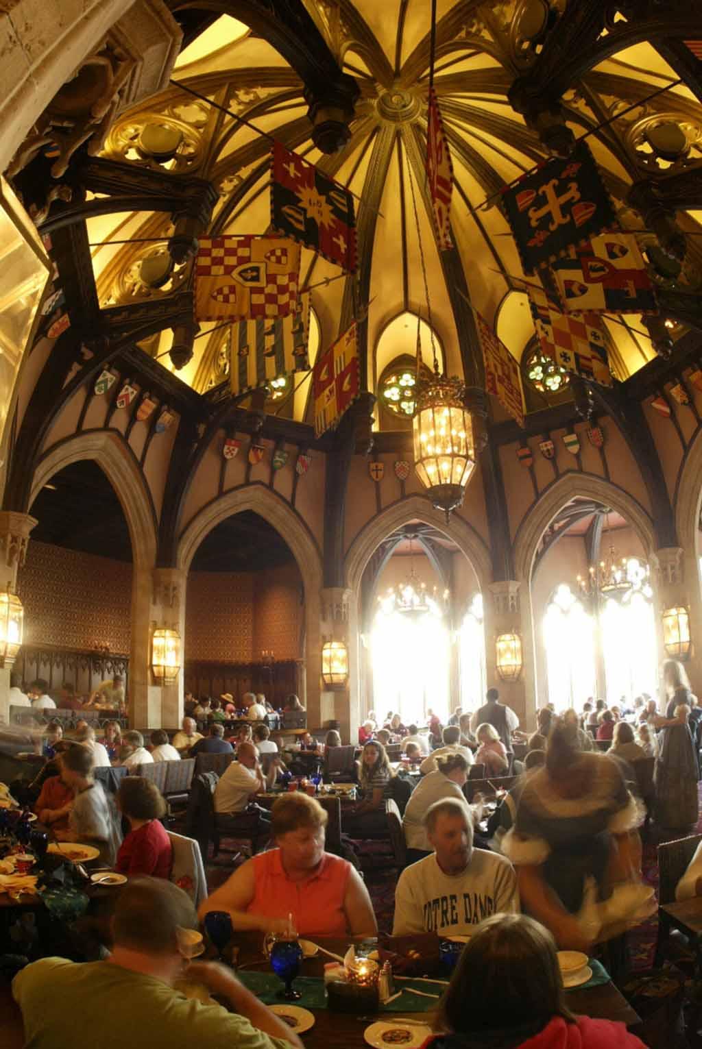Dine in Cinderella Castle