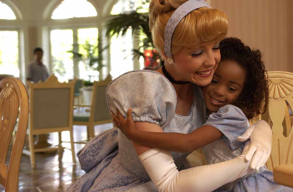 Cinderella meets a new friend