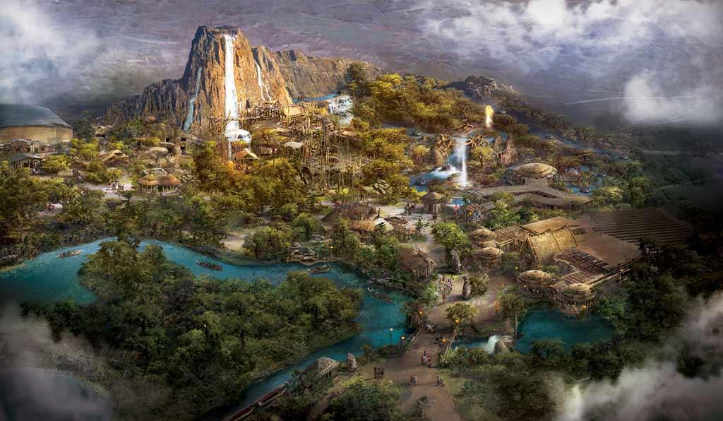 Adventure Isle artist rendering
