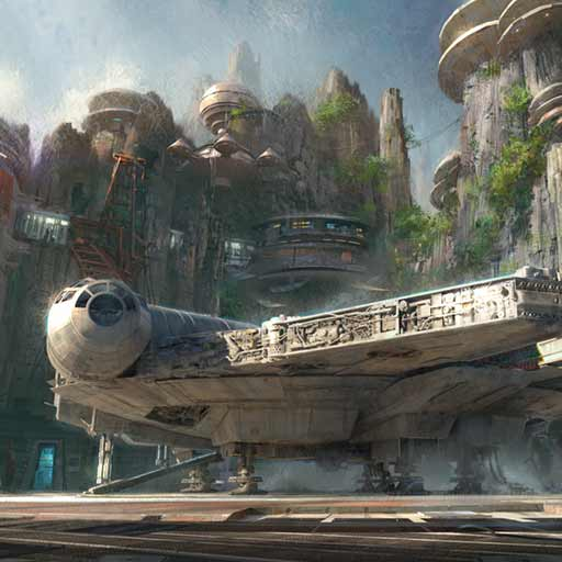 star wars land coming to disneyland and walt disney world