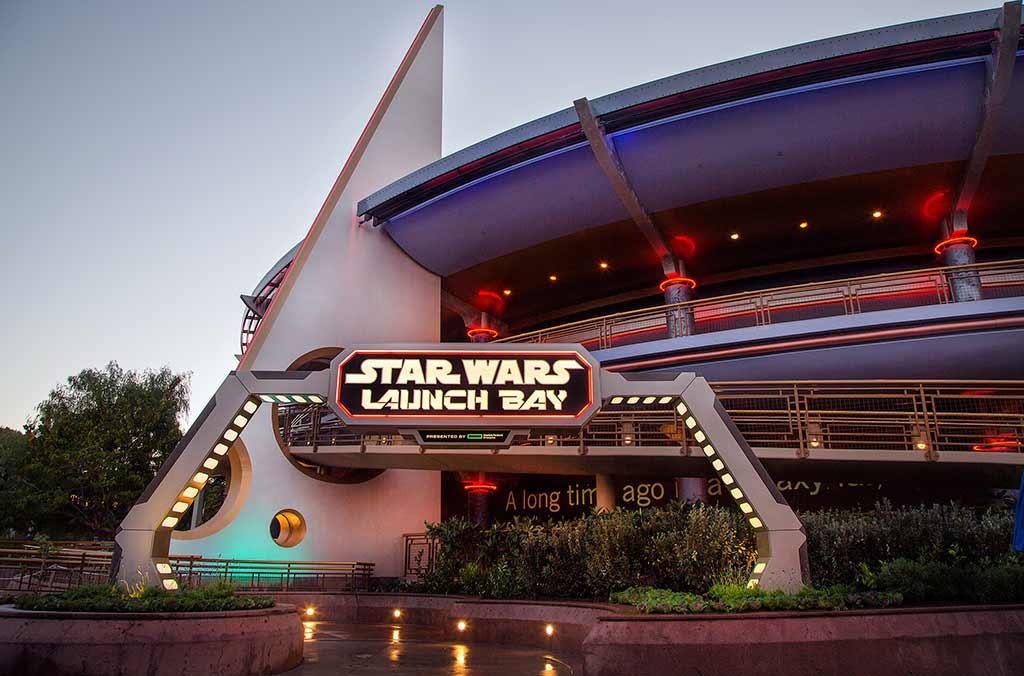 Star Wars Launch Bay entrance