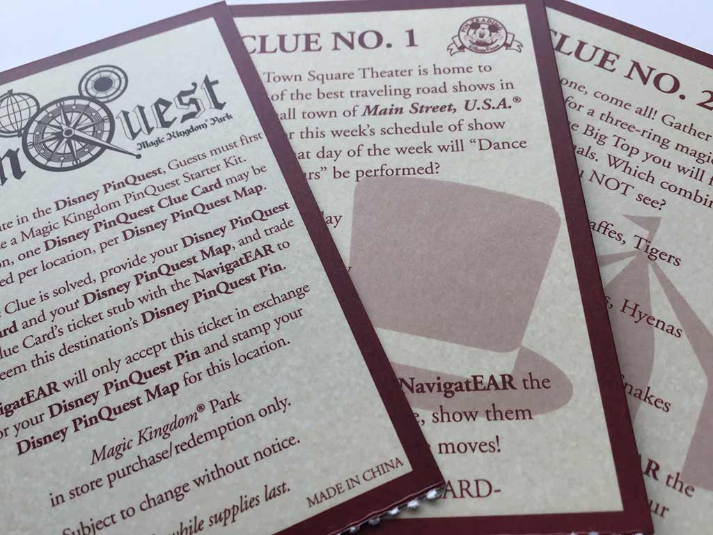 Inquest clue cards