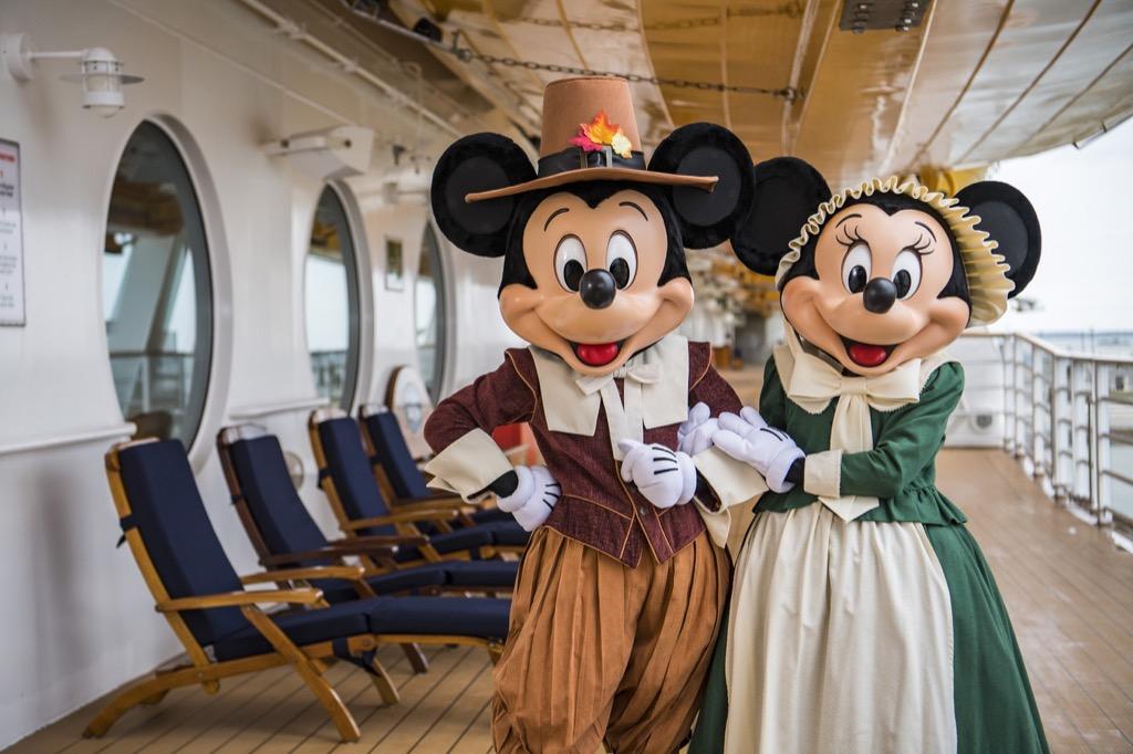 Pilgrim Mickey and Minnie