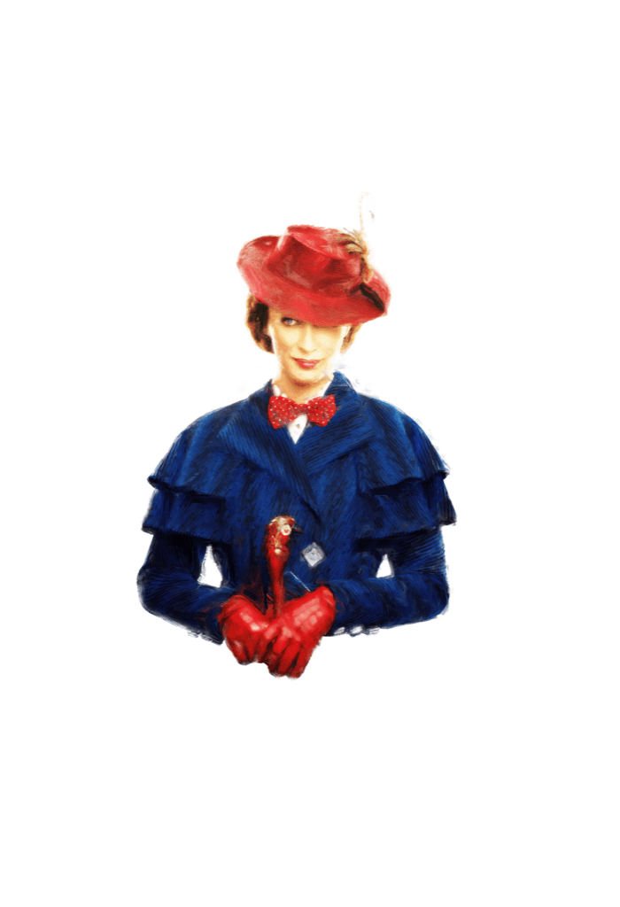 Emily Blunt as Mary Poppins ©Copyright Matthew C. Gallagher
