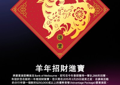 Bank of Melbourne Home Loans Lunar New Year