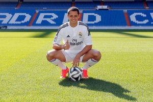 chicharito en el Madrid