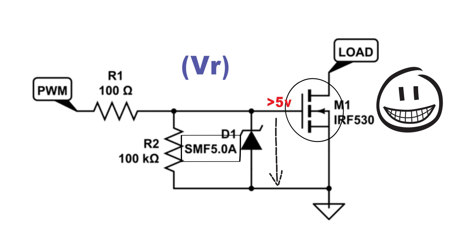 Difference between diode, Zener diode, and Schottky Diode