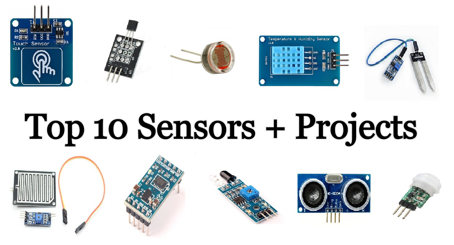 Top arduino sensors with projects for beginners