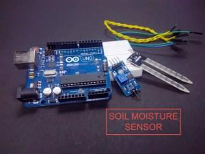 Soil Moisture measurement using Arduino