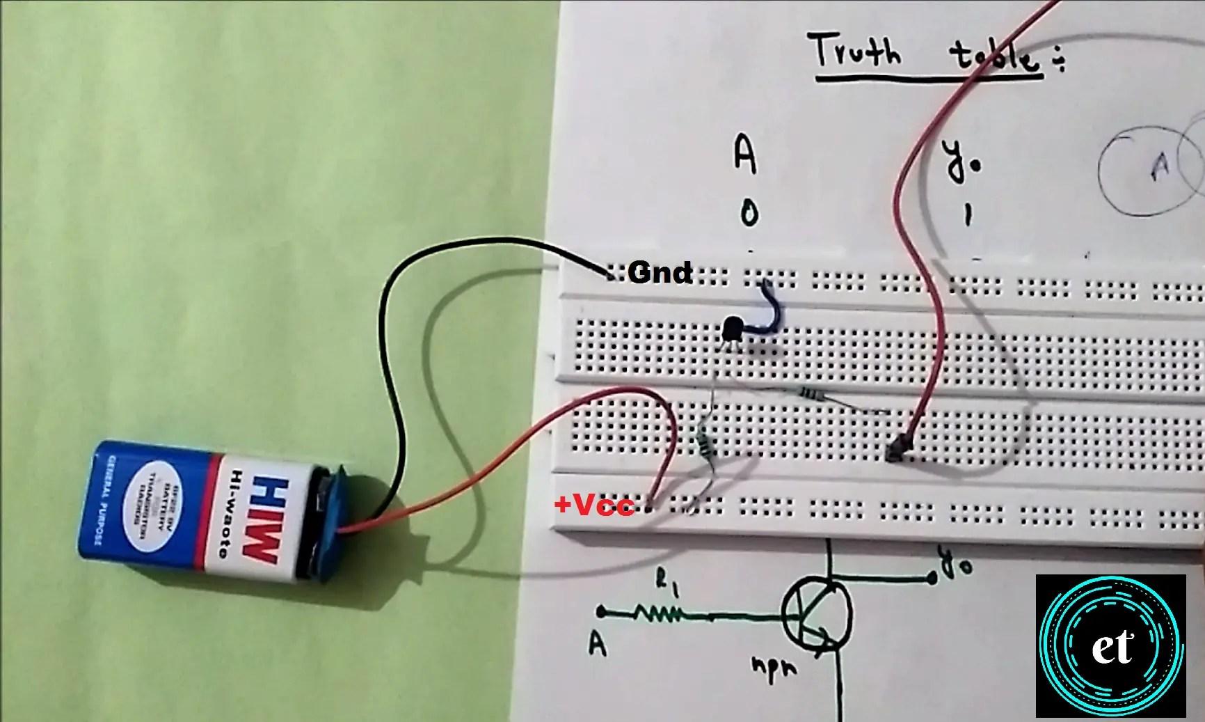 Simple Pwm Circuit Using Inverter Gates