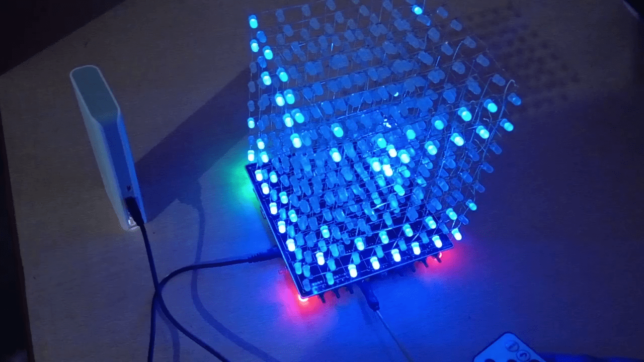 How To Assemble Diy Led Cube8x8x8 That Play Music The Light Emitting Diode Using Snap Circuits Do It Yourself Since