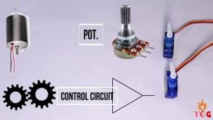 Parts of a Servo Motor