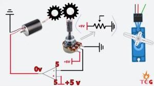 0 volts across DC Motor