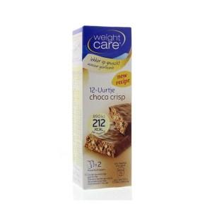 Weight Care Maaltijdreep choco crisp 2 stuks