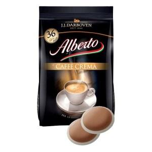 Alberto Caffè Crema koffiepads