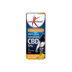 Lucovitaal CBD Olie 5% sinaas mint 10 ml