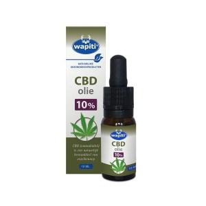 Wapiti CBD Olie 10% 10 ml