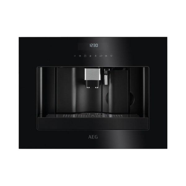 AEG KKE884500B inbouw koffiemachine (zwart) met MultiCup functie en Cappuccino functie