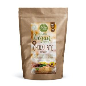 Ekopura - natural vegan proteine - chocolate - 500 gram