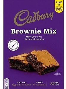 Cadbury Cadbury - Chocolate Brownie Mix 350 Gram