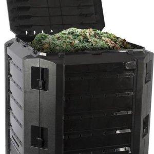 Kinzo Garden Bak compost Inhoud: 380 liter - Zwart
