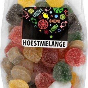 Bakker snoep - HOESTMELANGE - Multipak 12 zakjes