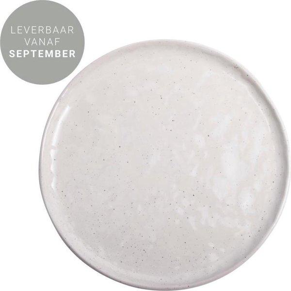 Gusta ontbijtbord aardewerk wit (Ø 20 centimeter)