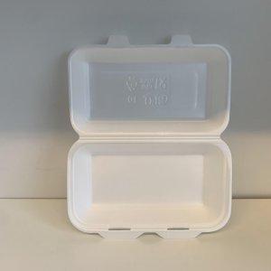 Lunchbox wit - 125 st. - Menubox - Frietbox - Maaltijdbox - Foodbak - HB 10 -Menu - Schuimbox - boîte à déjeuner - Mousse