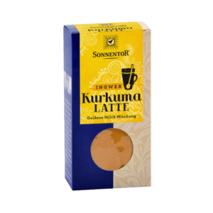 Sonnentor Kurkuma Latte gember 60 g, bio - pakje