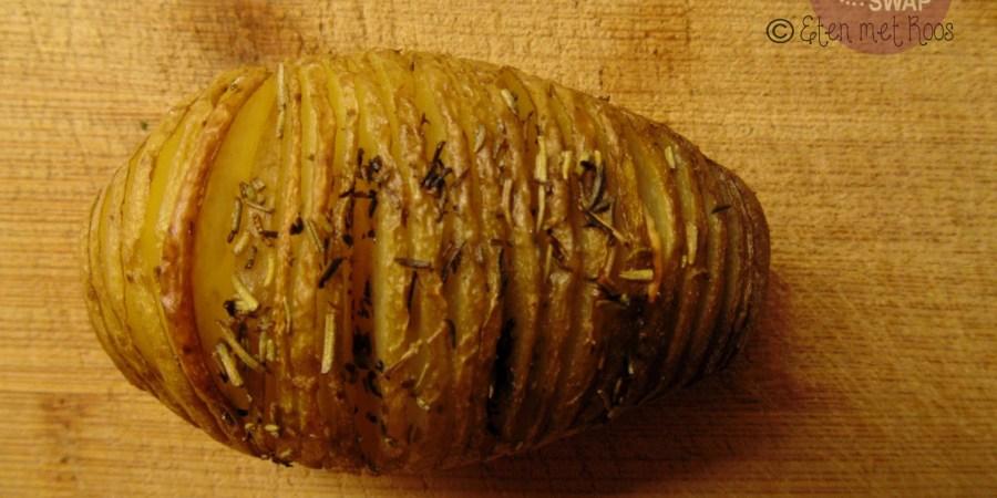hasselback aardappel recept