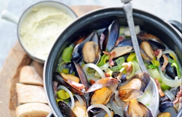 bretonse mosselen recept