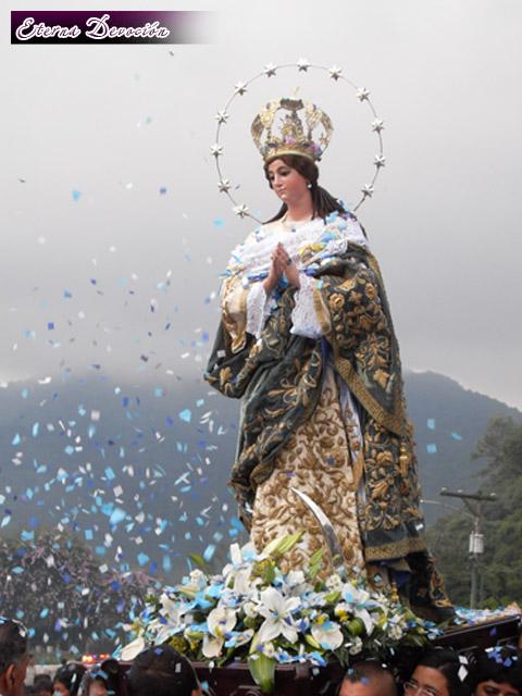 Llegada a Antigua Inmaculada Concepcin  Eterna Devocin