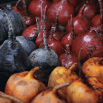 Organic Golden Red, and Chiogga beets